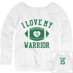 Warrior Football Girl