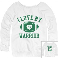 Warrior Football Girl