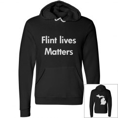 Flint lives matter Hoodies.