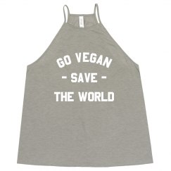 Go Vegan And Save The World