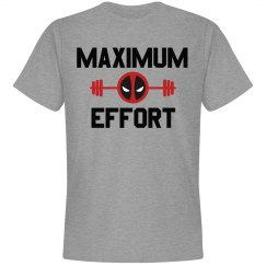 Workout Maximum Effort