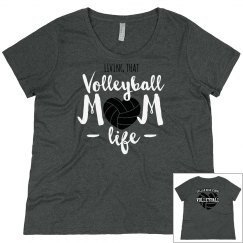 Mom volleyball shirt