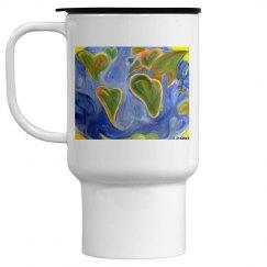 Worldly love mug