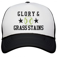 Glory In Softball Hat