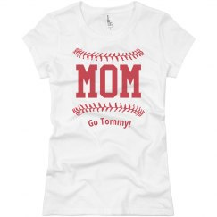 Baseball Stitches Mom