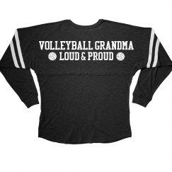 Loud Proud Volleyball Grandma
