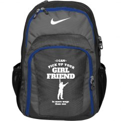 Funny Male Cheerleader Custom Nike Bag