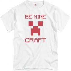 Be Mine Craft Valentine's Day Tee