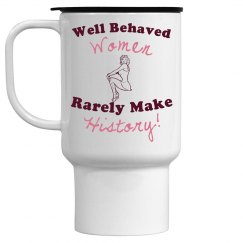 Behaved Travel Mug