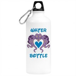 Octopus Water Bottle