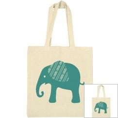 Teal Green Elephant