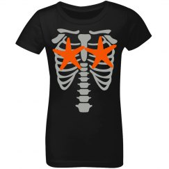 Youth Girl Skelemermaid Tee