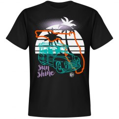 Johnny Dappa Trading Co. Premium Florida Sun Shine T-Sh