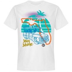 Johnny Dappa Trading Co. Premium Florida Sun Shine T-Sh