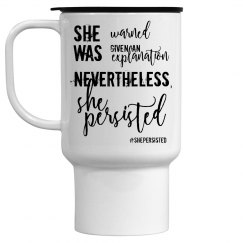 She Persisted Coffee Mug