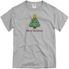 Christmas Poop Tree grey
