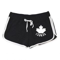 Canada Maple Leaf Shorts Canada Souvenir Shorts