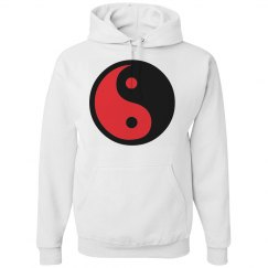 Yin-Yang in Black & Red