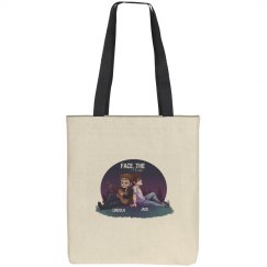 Face the Music tote