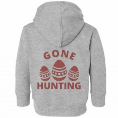 Gone Hunting Easter Toddler Sweatshirt