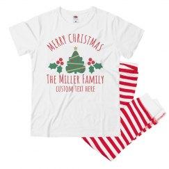Merry Christmas Family Pajama Sets