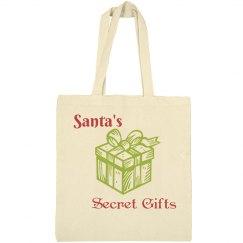 Santa's Secret Gifts Tote