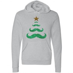 christmas mustache