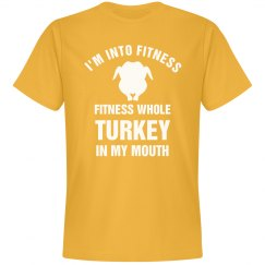 Into Fitness Thanksgiving Yellow