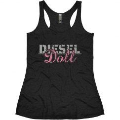 Diesel Doll Women's Racerback Tank