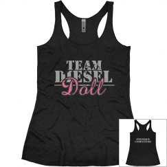 Team Diesel Doll - Physique Competitor Tank