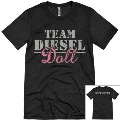 Team Diesel Doll - Supporter Men's T-shirt