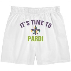 It's Time To Pardi At Mardi Gras