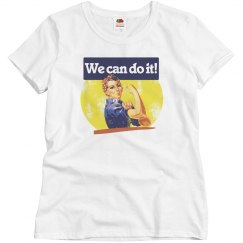 We can do it feminist