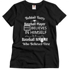 Baseball Mom - Believed First