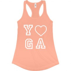 Yoga racer back tank
