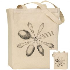 Silver wear gocery bag