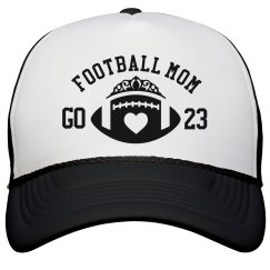 Go 23 Football Mom Hat