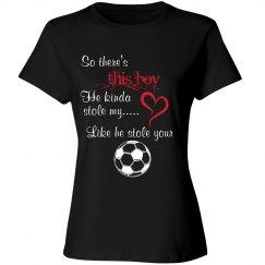 Soccer Mom - Stole heart/ball