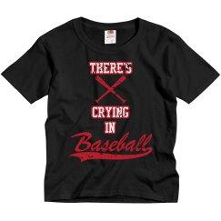 Baseball - No crying