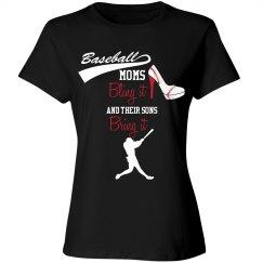 Baseball Mom - Bling and Bring