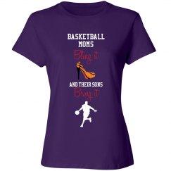 Basketball Mom - bling and bring