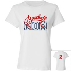 Baseball Mom - Enter # on back