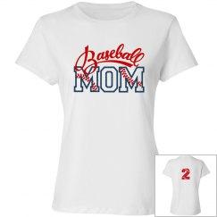 Baseball Mom - Enter # on back