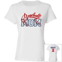 Baseball Mom - Enter name and # on back