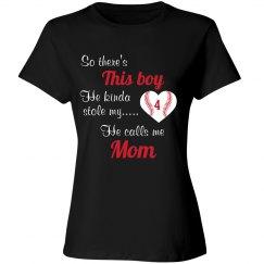 Baseball Mom - Stole Heart - enter number