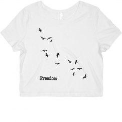 Freedom Birds Crop Top