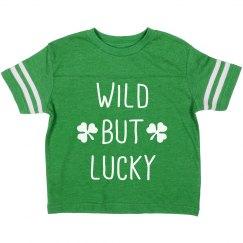 Wild & Lucky Sporty St. Patrick's Tee