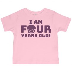 I Am 4 Years Old!