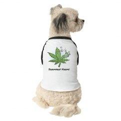 Swamprat Farms 3/4 sleeve dog shirt