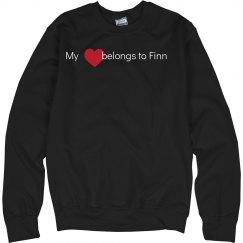 Heart belongs to Finn